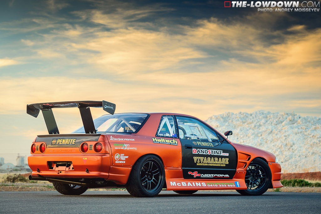 Cue Chris Johnson's R32 GTS-T. In 2012 he bought it as a rolling ...
